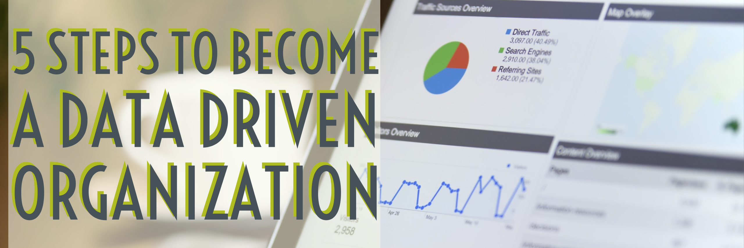 5 steps to become a data driven organization