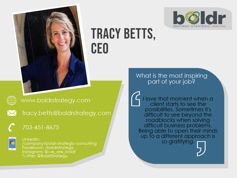 Intro to Tracy Betts