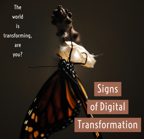 signs of digital transformation